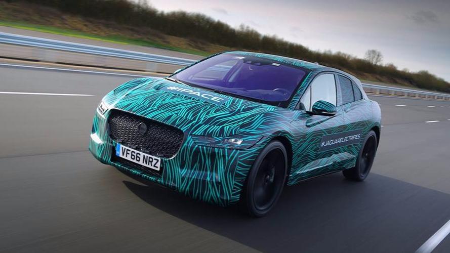 Le Jaguar I-Pace est intenable