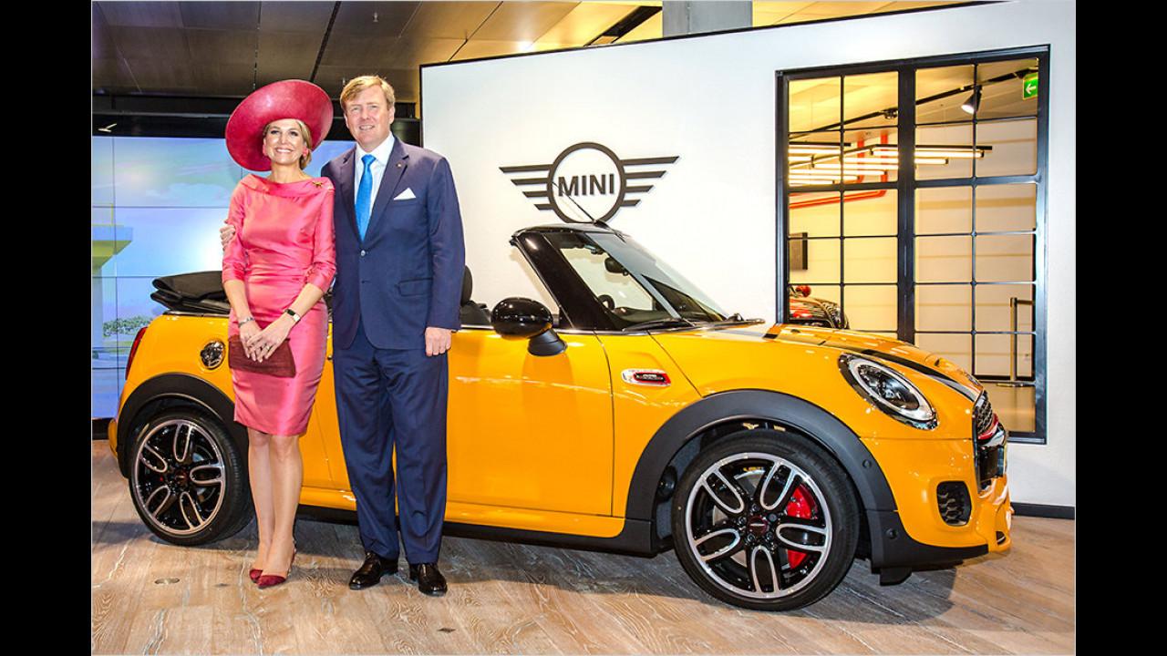 Willem Alexander und Maxima: BMW Welt (Mini)