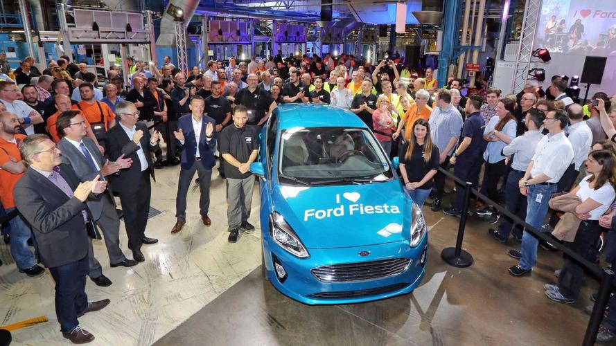 La nouvelle Fiesta arrive en production !