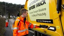Volvo otonom çöp kamyonu