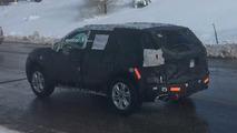 Gizemli Chevrolet SUV casus fotoğrafı