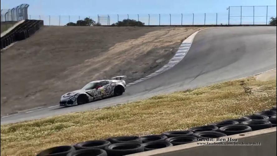 Chevrolet Corvette ZR1 Prototypes Filmed Lapping Laguna Seca
