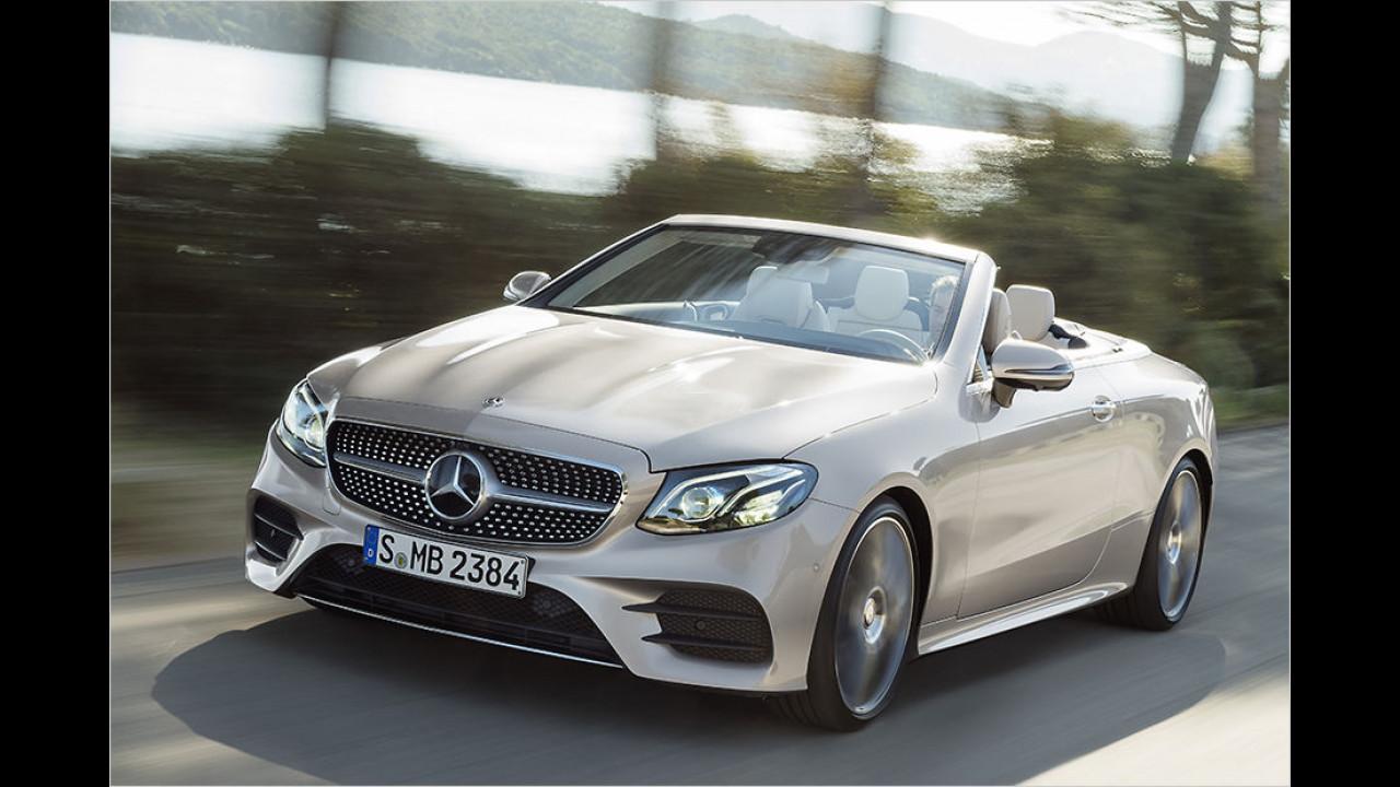 Mercedes öffnet die E-Klasse
