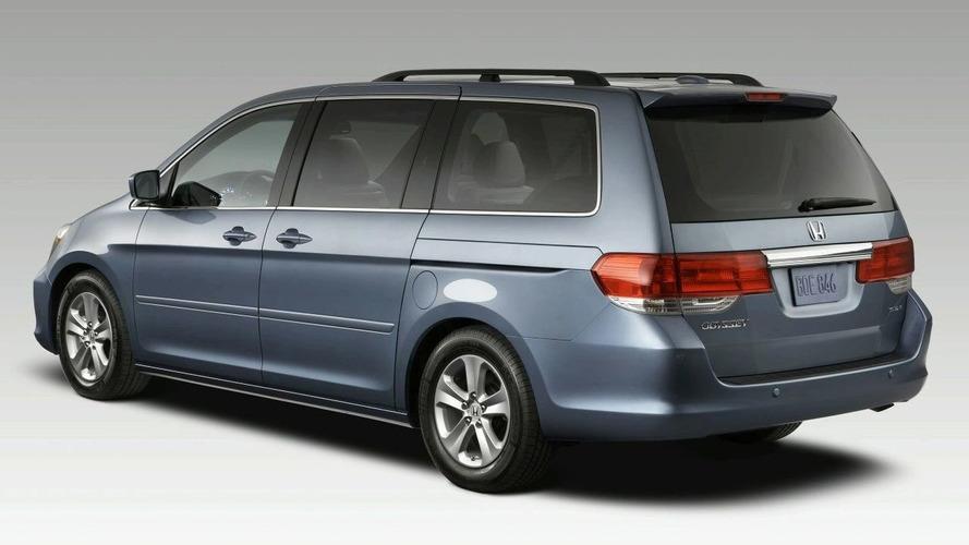 2008 Honda Odyssey Facelift Revealed