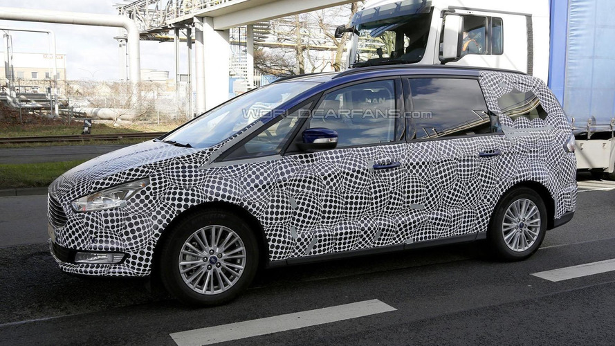 2016 Ford Galaxy spied wearing less camouflage than ever before