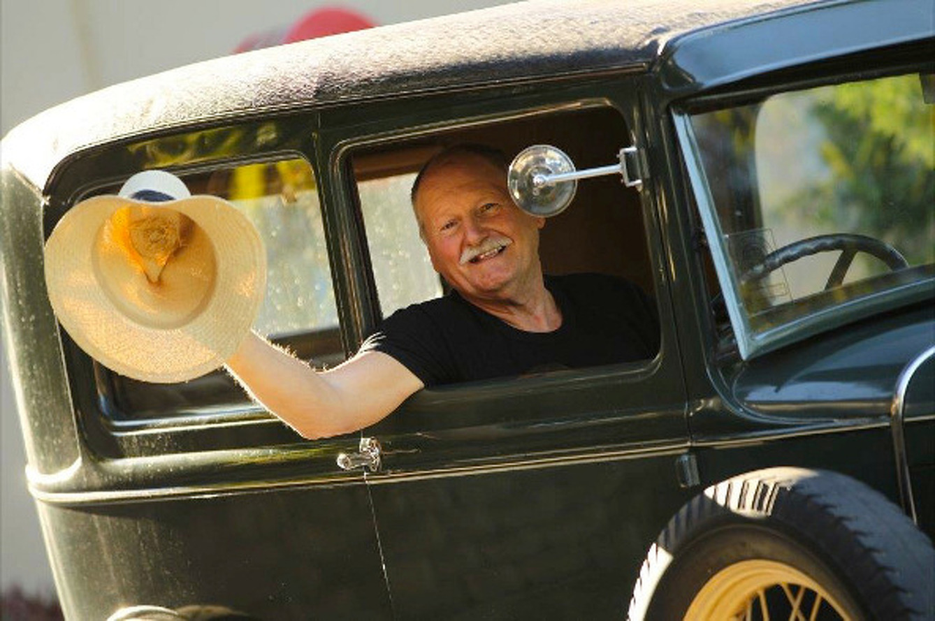 Duo Making Cross-Country Journey in a 1930 Ford Model A