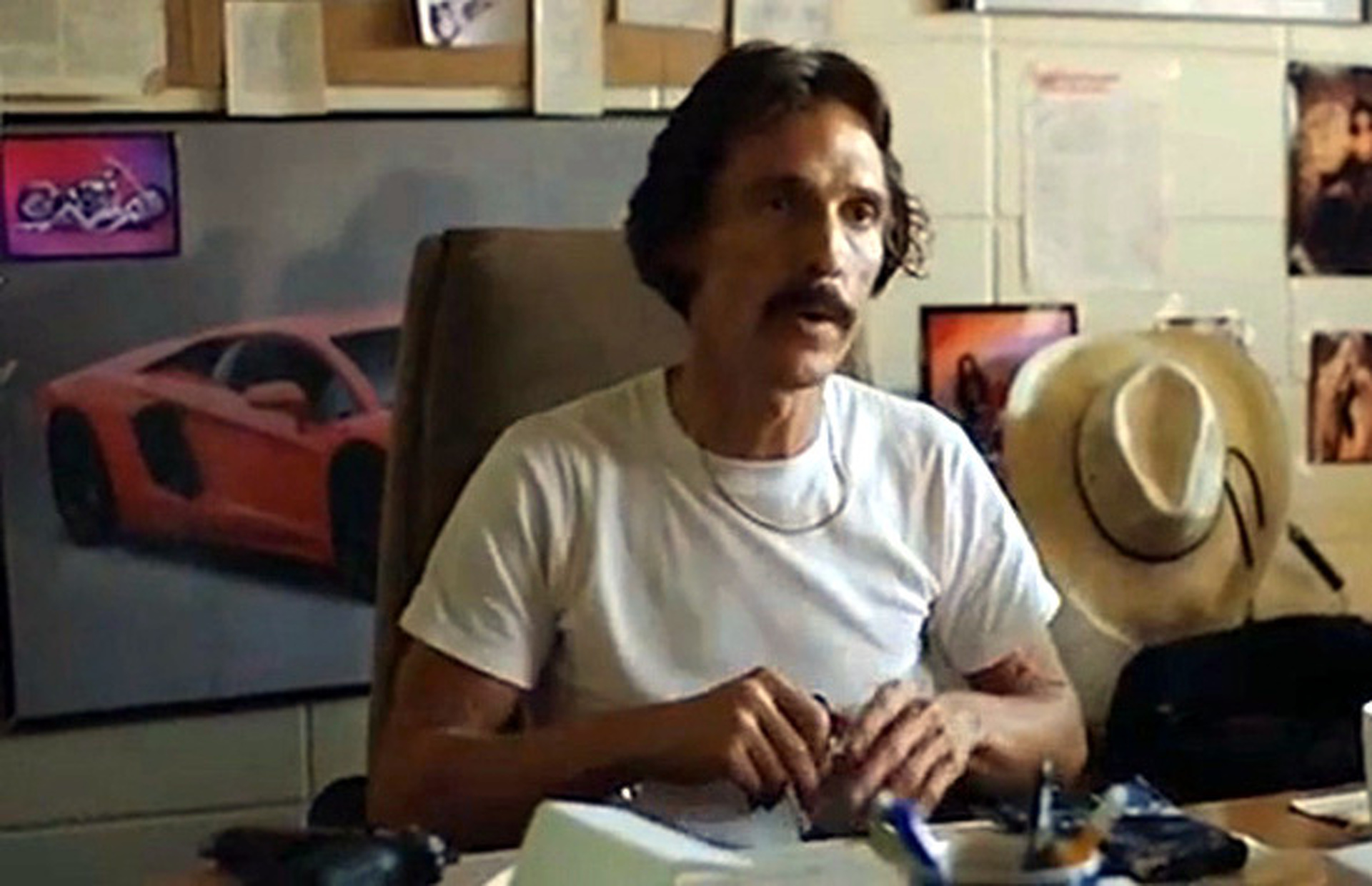 A Time-Traveling Lamborghini in 'Dallas Buyers Club'?