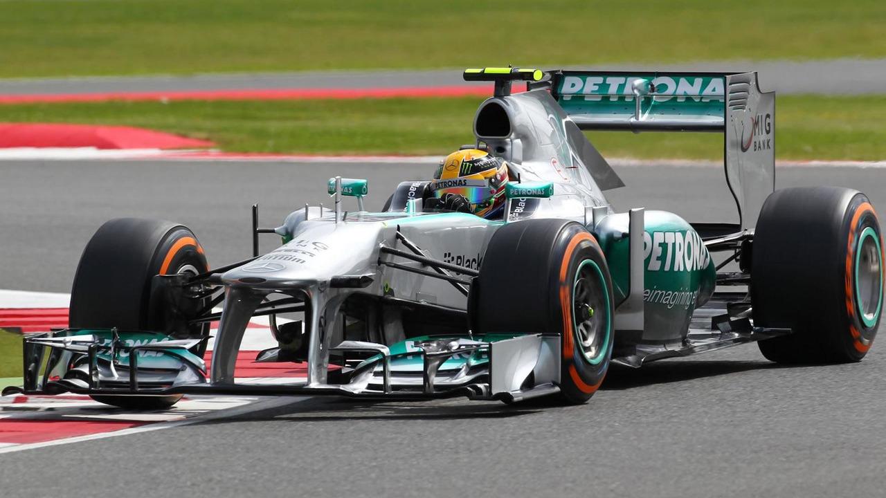 Lewis Hamilton (GBR) Mercedes AMG F1 W04 29.06.2013