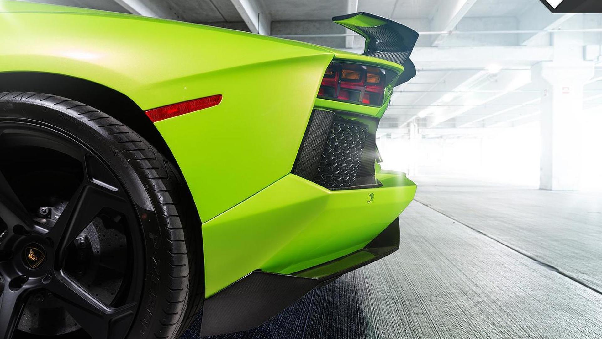 Колёса Lamborghini Aventador-V Roadster The Hulk от Vorsteiner