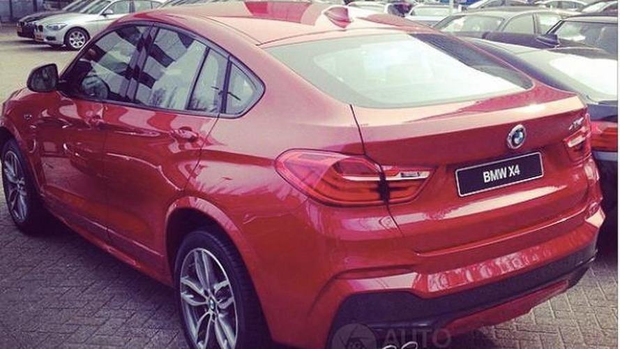 2015 BMW X4 photographed in the metal