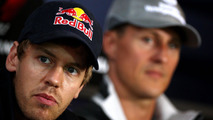 Sebastian Vettel and Michael Schumacher 22.07.2010 German Grand Prix