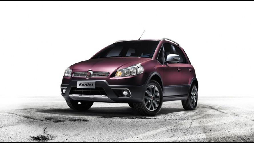 Fiat Sedici model year 2012