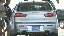 High-Performance Mitsubishi Lancer Spied