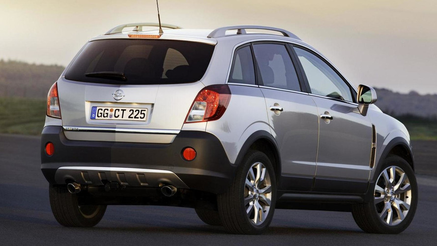 2011 Opel Antara facelift revealed