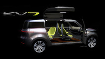 Kia KV7 concept crossover preview design sketch 24.12.2010