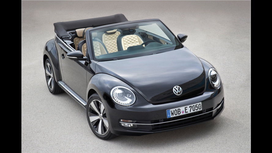 VW Beetle Cabrio: Nobler Start