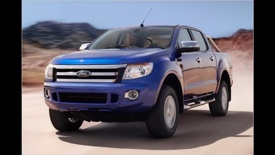 Robuster Geländegänger: Premiere für neuen Ford Ranger