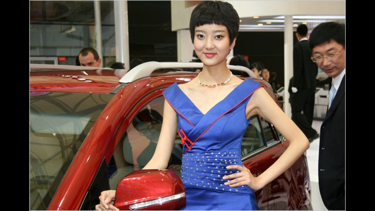 Auch in China setzen sich Kurzhaarschnitte durch