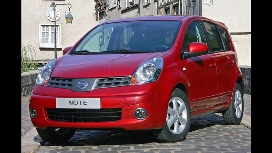 Nissan-Sondermodell: Note ,Movie Park Edition