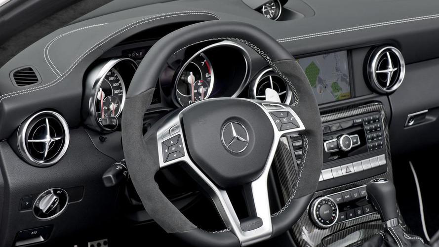 2012 Mercedes SLK55 AMG unveiled [videos]