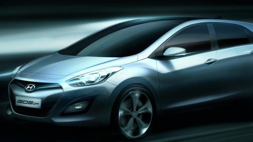 Hyundai releases official rendering of 2012 i30