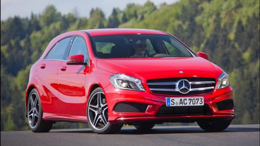 Nuova Mercedes Classe A: prezzi da 22.990 euro