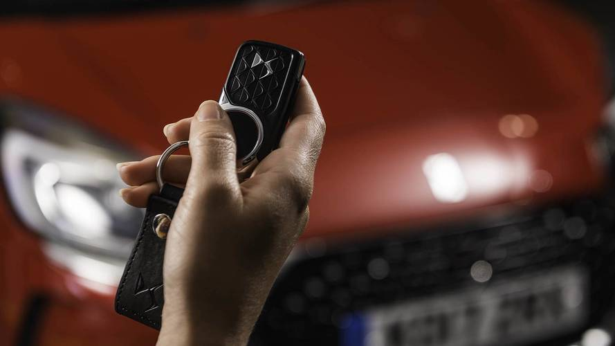 DS launches contactless payment car key