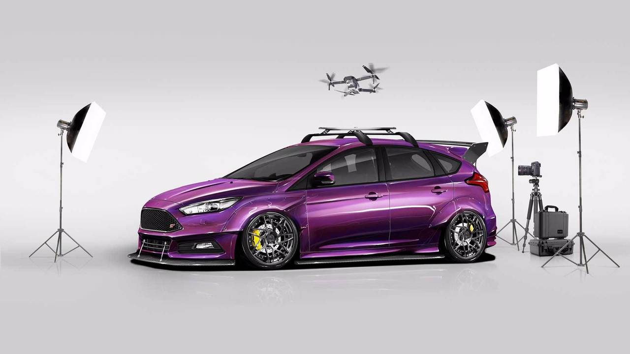 2017 Ford Focus ST by Blood Type Racing