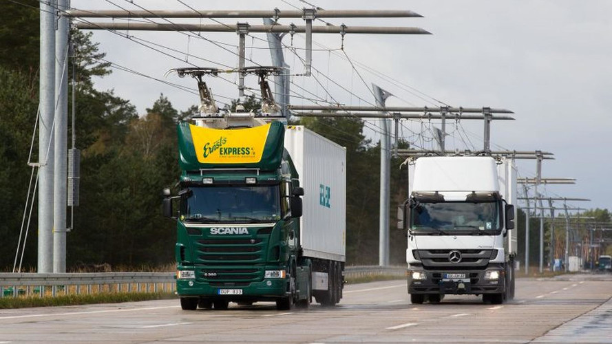 Siemens To Build First Electric Highway For Trucks