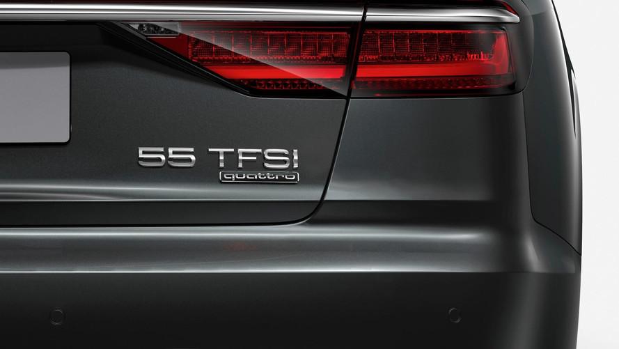 Audi - Novo padrão de nomenclatura
