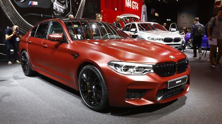 BMW M5 exibe seus 600 cv e o novo design em Frankfurt