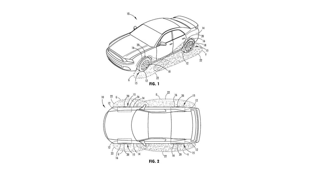 Ford Illuminated Wheel Patent