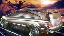 Mercedes-Benz R-Class Design sketch