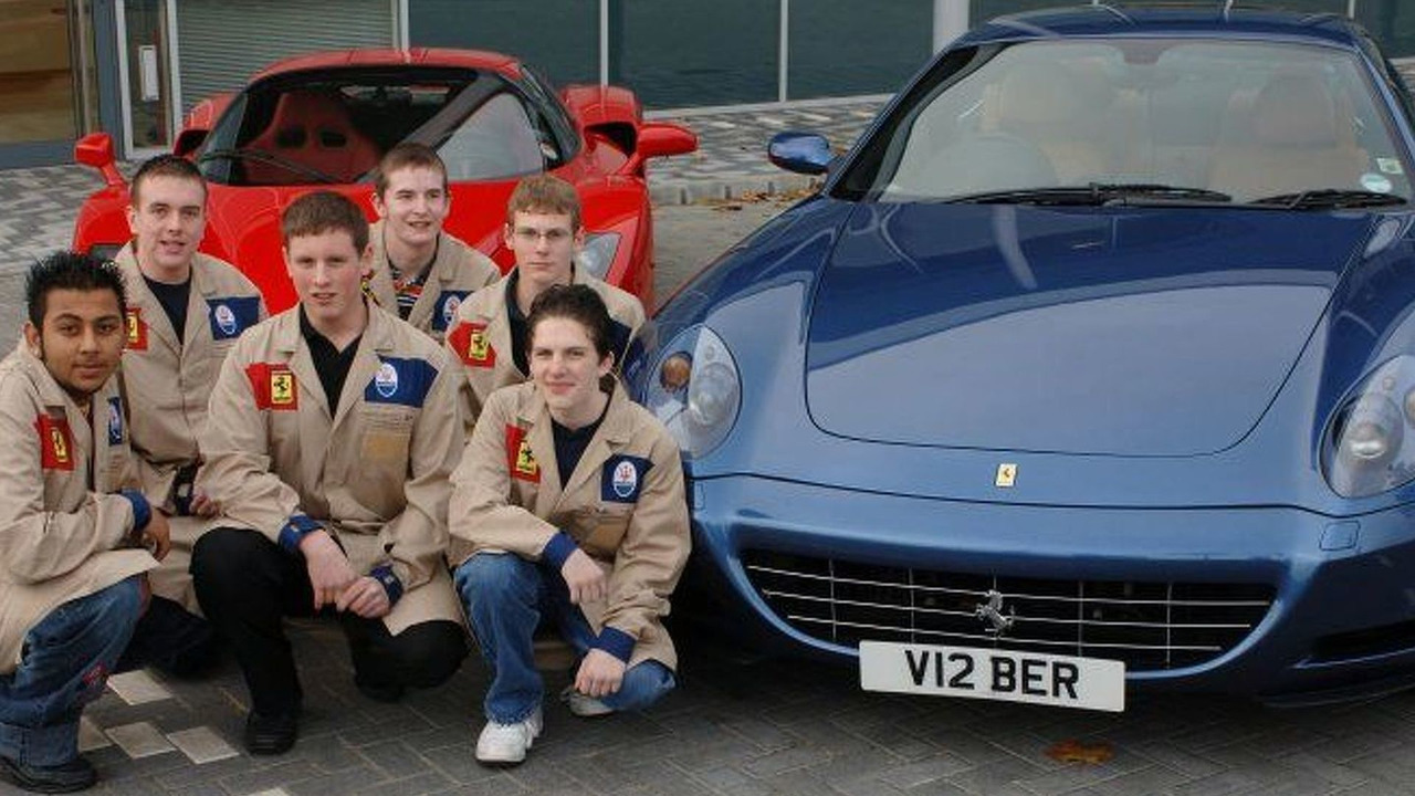 Ferrari Apprenticeships