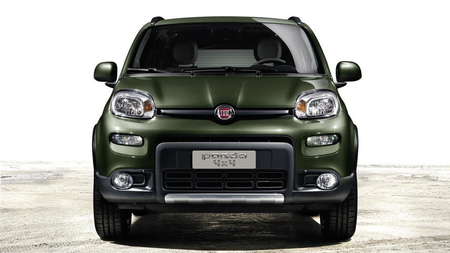 2013 Fiat Panda 4x4 revealed, debuts in Paris
