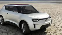 Ssangyong XIV-2 Convertible Crossover Concept