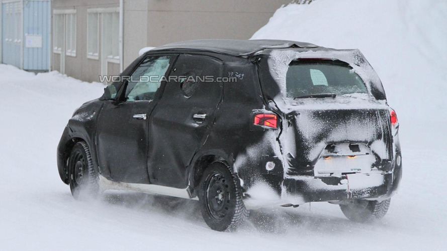 2012 Fiat Ellezero spied inside & out