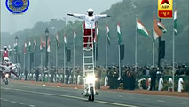 India Republic Day Motorcycle Stunt