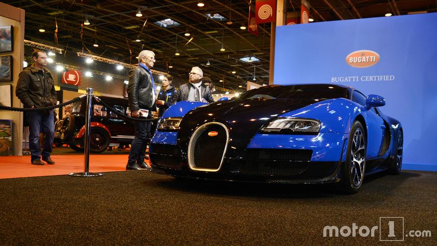 Rétromobile 2017 - Bugatti expose deux Veyron