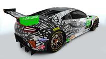 2017 Acura NSX IMSA giydirmeleri