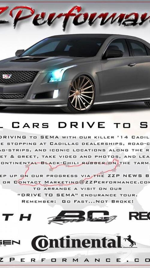 ZZ Performance bringing a 600 bhp Cadillac ATS to SEMA