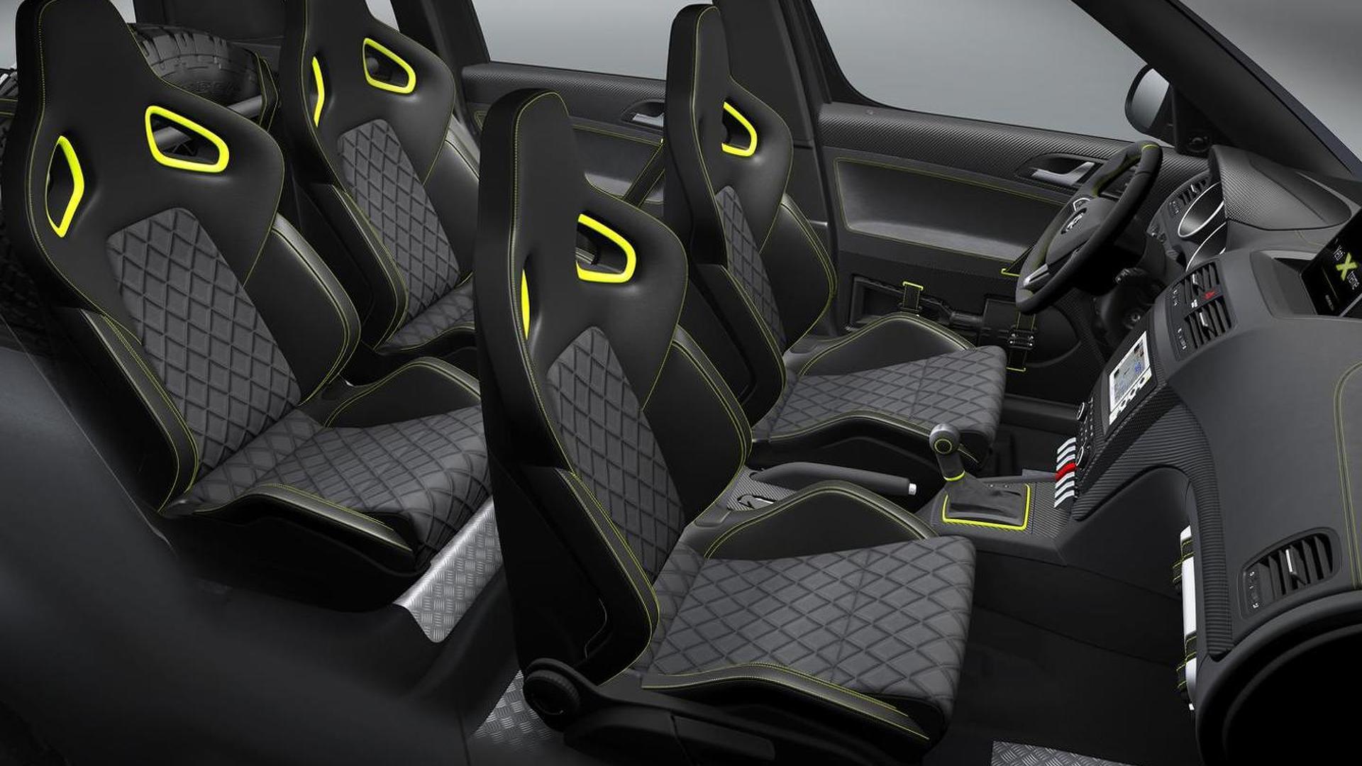 Салон Skoda Xtreme Concept
