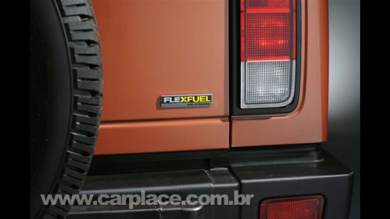 Flex Fuel: Hummer lança H2 Black Chrome Limited Edition bicombustível