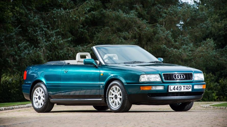 Prenses Diana'nın 1994 model Audi Cabriolet'si açık arttırmayla satılacak