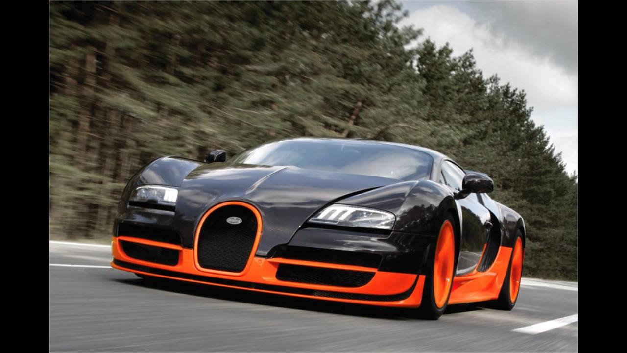 431 km/h: Bugatti Veyron 16.4 Super Sport