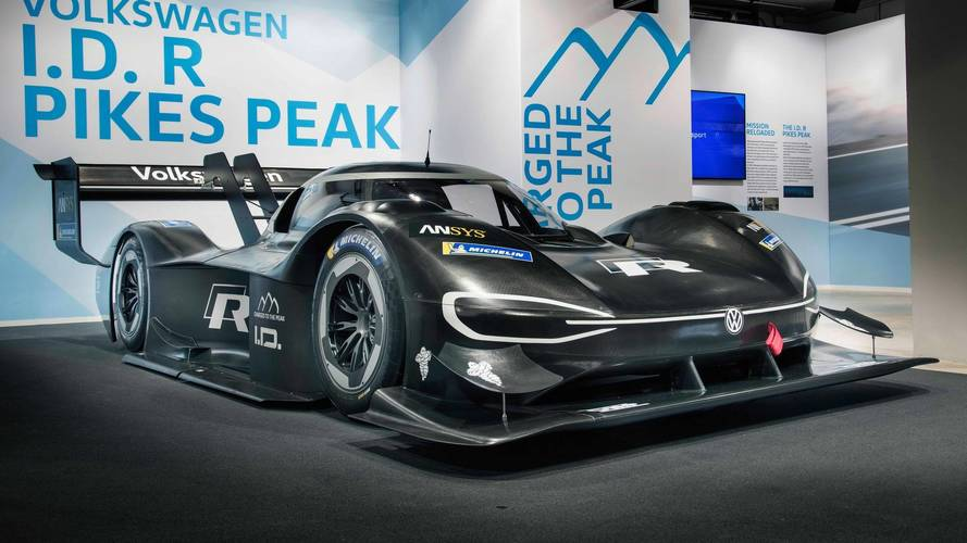 Volkswagen reveals its first all-electric race vehicle built to conquer Pikes Peak