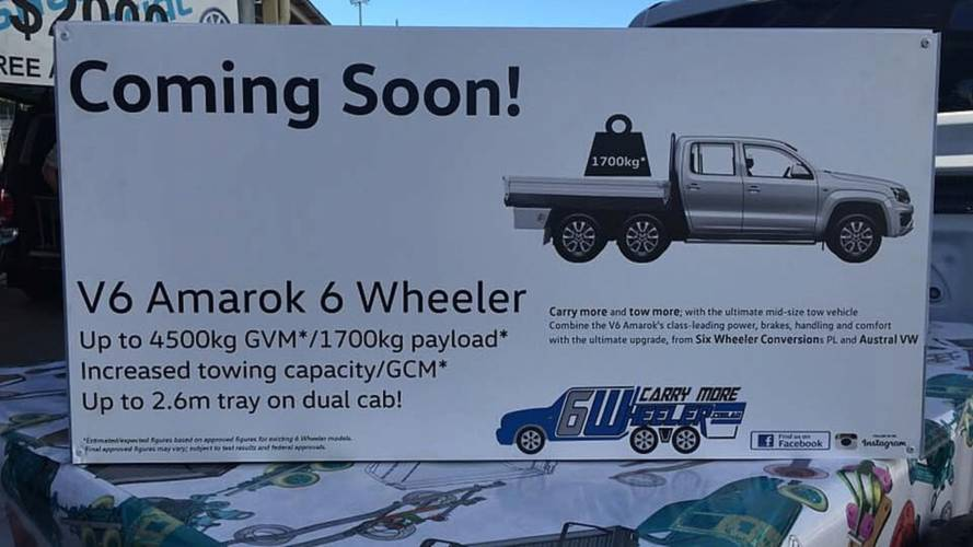 Six-Wheeler VW Amarok