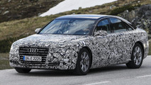 2015 Audi A8 facelift spy photo 22.05.2013
