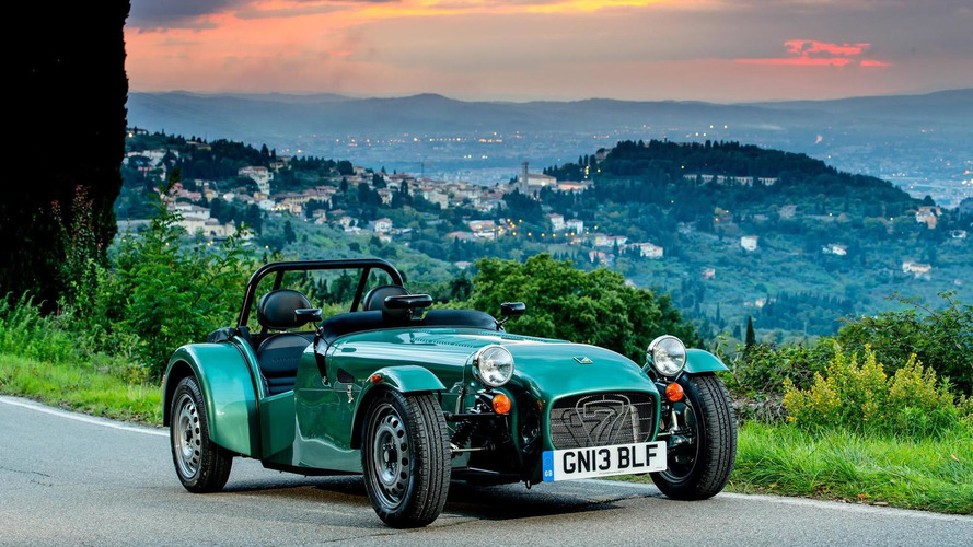 Caterham Seven 165 detailed, priced from 14,995 GBP