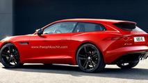 Jaguar F-Type Shooting Brake render